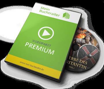 DVD Cover Buchtrailer Premium (am kleinsten)